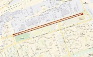 Виртуальная экскурсия по велодорожке на проезжей части