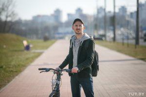 Велоофицер о движении в Минске
