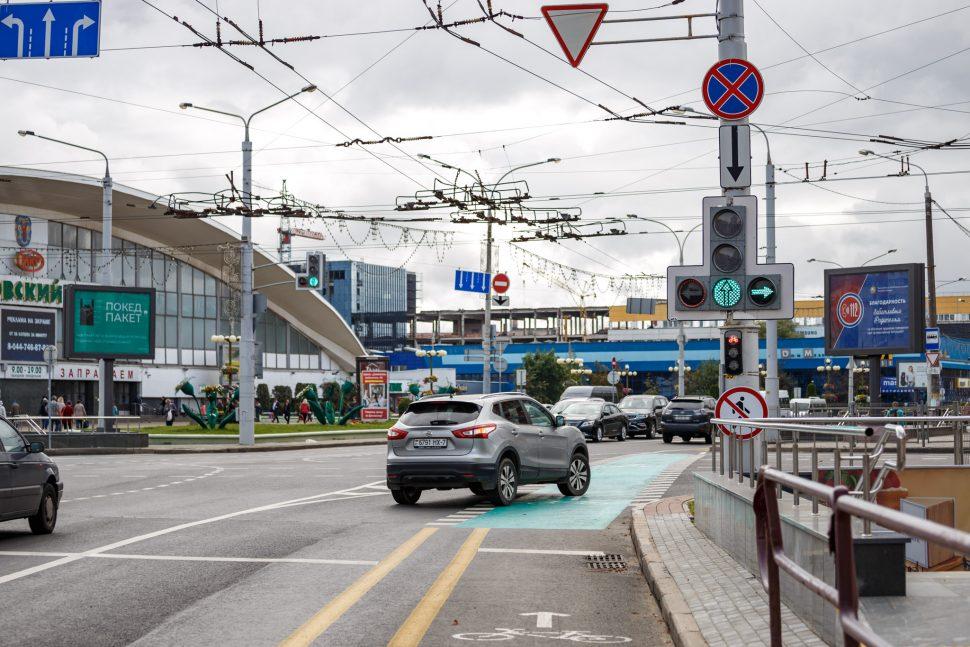 Как теперь двигаться на автомобиле по улице Хоружей