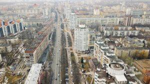 Характер минских улиц: активисты тренируются на Веры Хоружей и начинают общественный диалог
