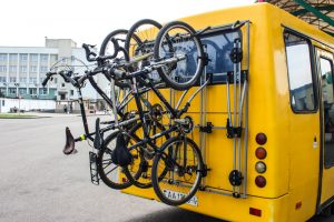 В Брестской области проходит кампания за оснащение велобагажниками междугородних автобусов