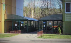 В Беларуси в 2 раза может увеличиться обязательная норма на создание мест для хранения велосипедов