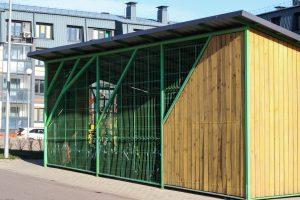 UPD! Мингорисполком ответил МВО, как построить велогараж во дворе