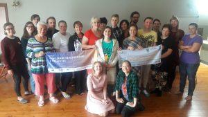 Велосипедные активисты собрались на семинар по фандрайзингу