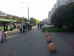 Движение велосипедистов по ул. Куйбышева