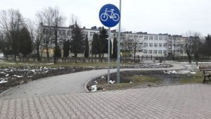 Изучение велосипедной инфраструктуры Люблина