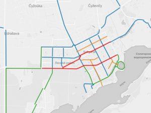 Предложения по развитию велосипедного движения в Солигорске