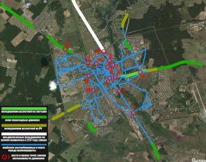 Активисты ВелоЛиды провели обследование города